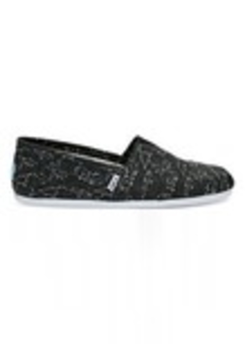 cc976ae24dd TOMS Shoes Black Canvas Geometry Men s Classics