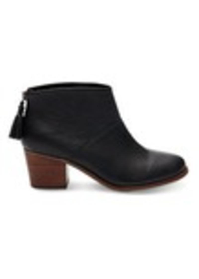 345653b6213 Black Full Grain Leather Women's Leila Booties