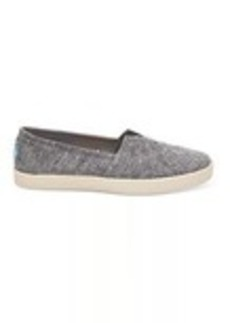 Black Slub Chambray Women's Avalon Slip-Ons