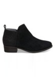 Black Suede Women's Deia Booties