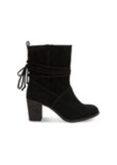 Black Suede Women's Mila Boots