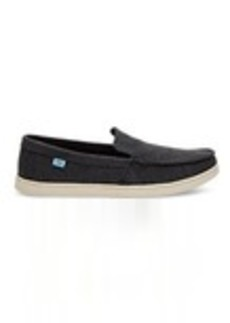 TOMS Shoes Black Washed Canvas Men's Aiden Slip-Ons