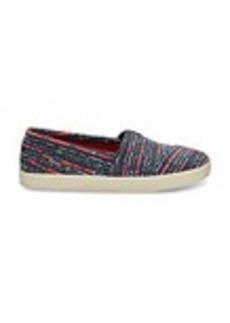 Blue Multi Denim Women's Avalon Slip-Ons