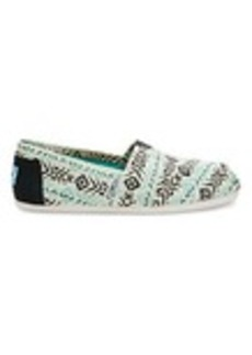 Blue Multi Tribal Print Women's Classics