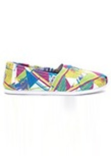Bright Multi Canvas Triangles Women's Classics