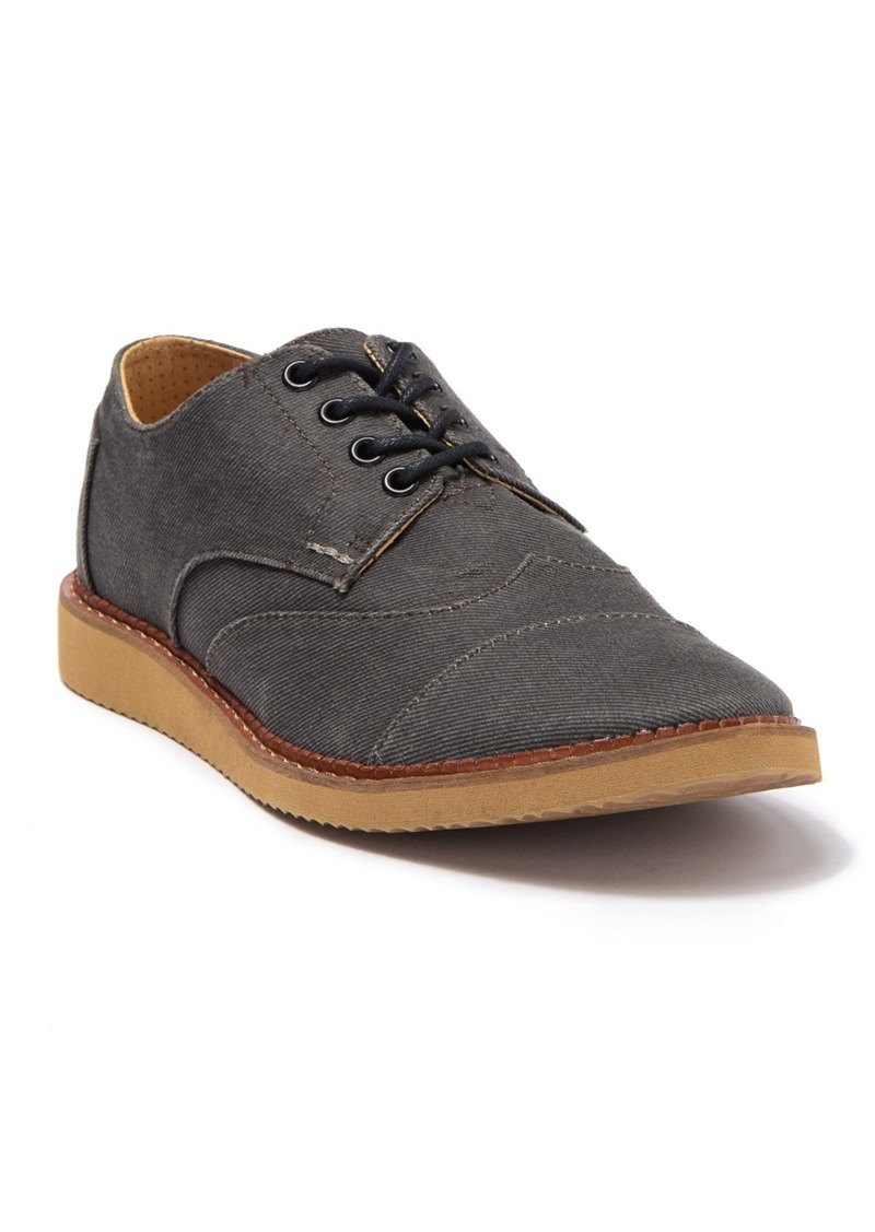 TOMS Shoes Brogue Lace-Up Casual Sneaker