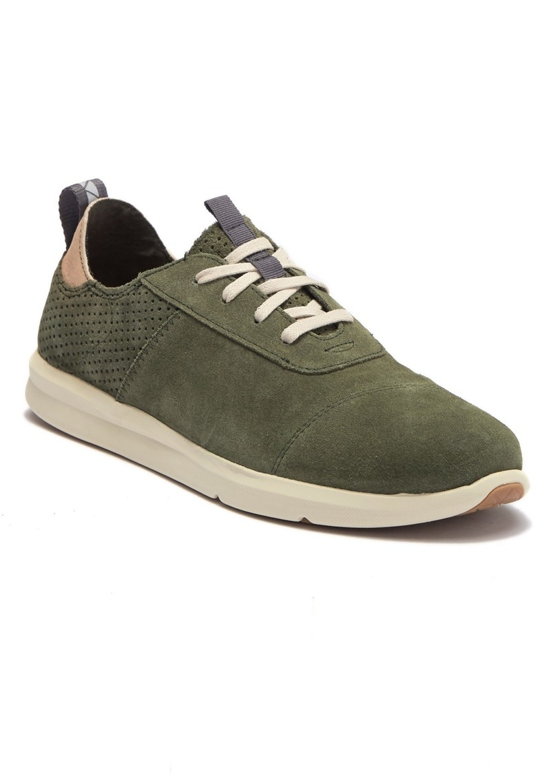 TOMS Shoes Cabrillo Perforated Suede Sneaker