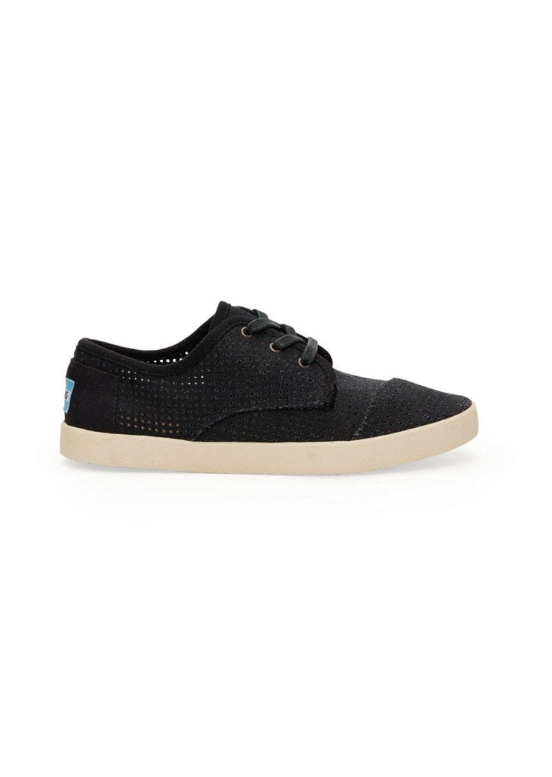 toms shoes canvas perforated s paseos shoes shop