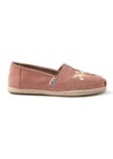 Canyon Clay Embroidered Women's Espadrilles