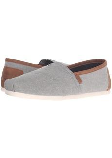 TOMS Shoes Chambray Classics