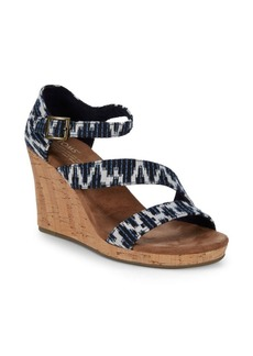 TOMS Shoes Claris Wedge Sandals