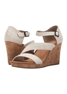 TOMS Shoes Clarissa Wedge