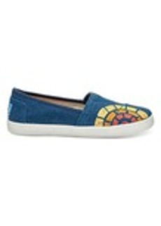 CTAOP Navy Washed Women's Avalon Slip-Ons