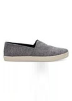 TOMS Shoes Dark Navy Chambray Men's Avalon Slip-Ons