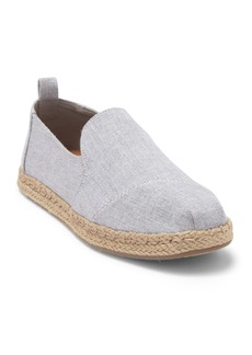 TOMS Shoes Deconstructed Alpargata Espadrille Slip-On Shoe