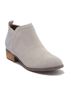 TOMS Shoes Deia Suede Ankle Bootie