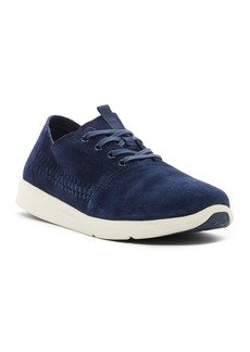 TOMS Shoes Del Rey Woven Suede Sneaker
