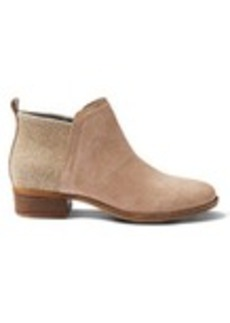 TOMS Shoes Desert Taupe Suede Women's Deia Booties