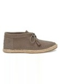 TOMS Shoes Desert Taupe Suede Women's Palmera Chukka Booties