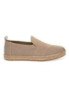 Desert Taupe Washed Canvas Women's Deconstructed Alpa...