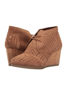 TOMS Shoes Desert Wedge Bootie