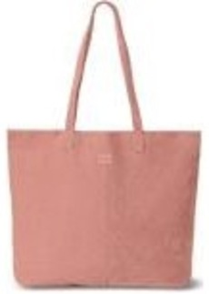 TOMS Shoes Dusty Rose Suede Embroidered Cosmopolitan Tote