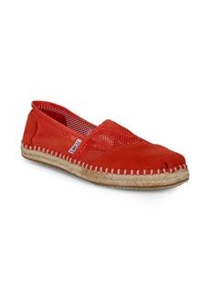 TOMS Shoes Fiesta Slip-On Espadrilles