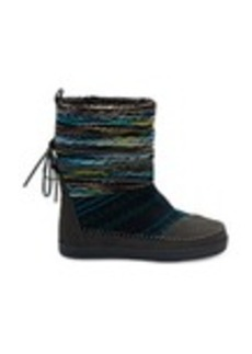 Forged Iron Grey Suede Textile Mix Women's Nepal Boots