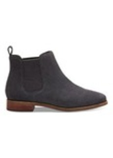 Forged Iron Grey Suede Women's Ella Booties
