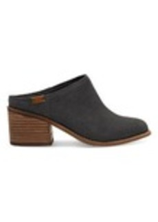 Forged Iron Grey Suede Women's Leila Mules