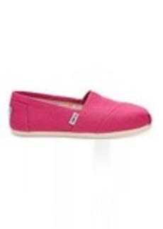 TOMS Shoes Fuchsia Canvas Women's Classics