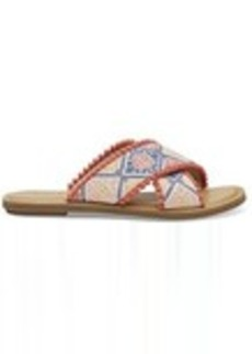 TOMS Shoes Geo Embroidered Women's Viv Sandals