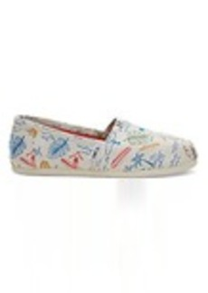 Grey Multi Surf City Print Women's Classics