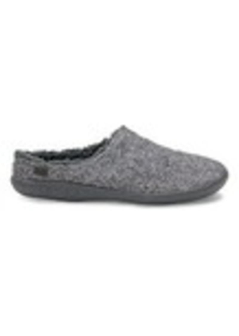 d872625d141 TOMS Shoes Grey Slub Textile Men s Berkeley Slippers