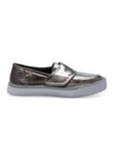 Gunmetal Leather Women's Altair Slip Ons