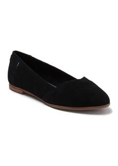 TOMS Shoes Julie Almond Toe Flat