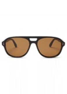 TOMS Shoes Kingsfield Black Grey Grain Polarized