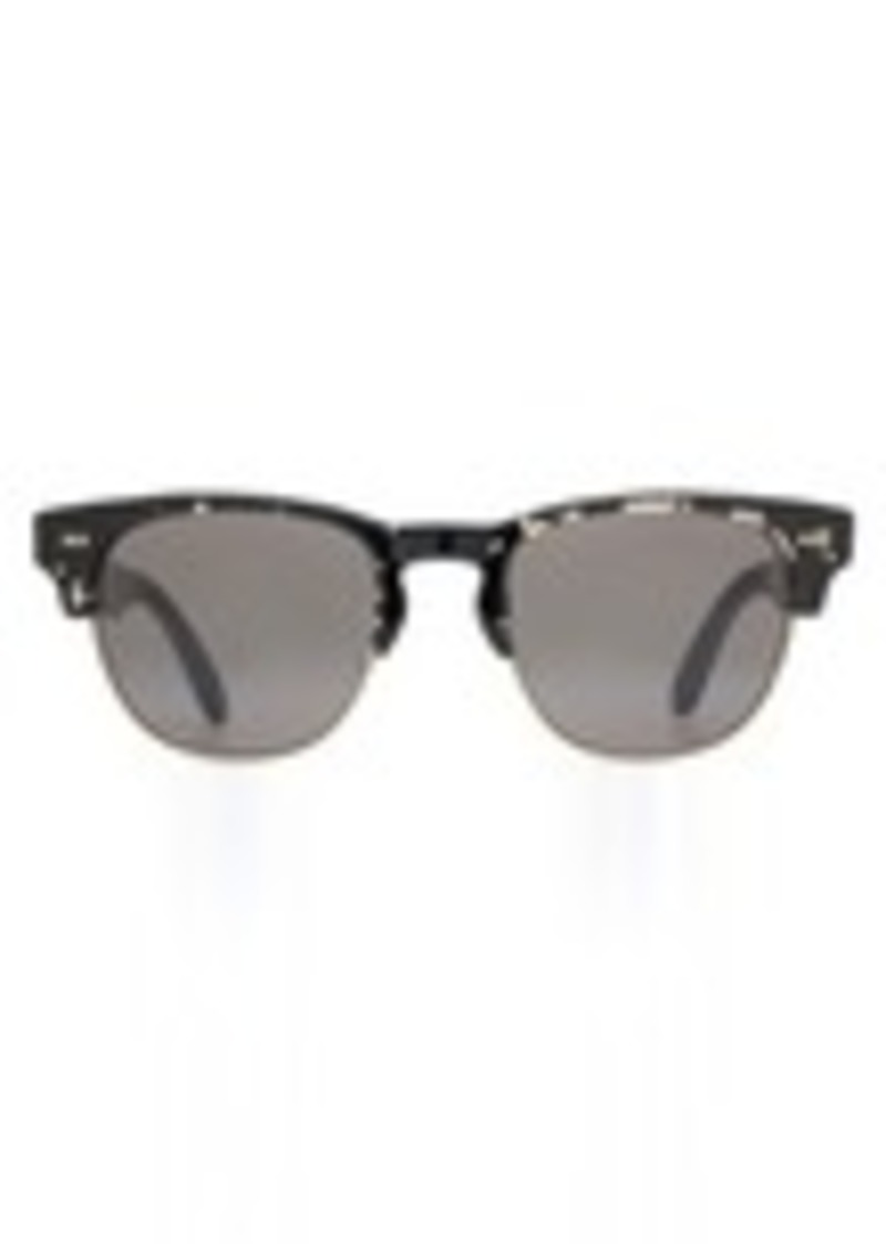 6b97642d7 TOMS Shoes Lobamba Clear Black Tortoise | Sunglasses