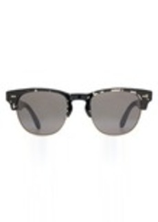 TOMS Shoes Lobamba Clear-Black Tortoise