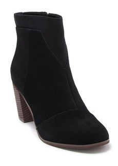 TOMS Shoes Lunata Suede Ankle Boot