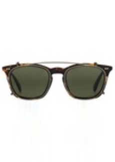 TOMS Shoes Maxwell Matte Havana Tortoise Polarized