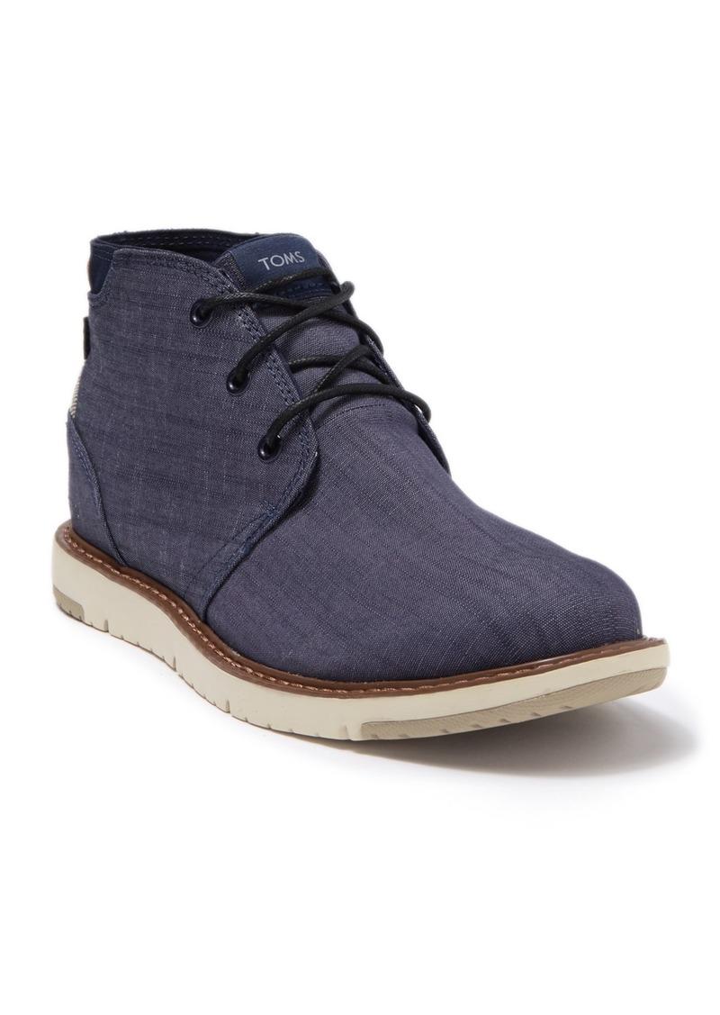 TOMS Shoes Navi Canvas Chukka Boot