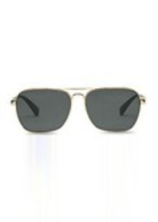TOMS Shoes Navigator 201 Shiny Gold and Panama Tortoise