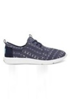 Navy Batik Stripe Women's Del Rey Sneakers