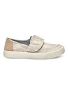 Oatmeal Wool and Suede Women's Altair Slip-Ons
