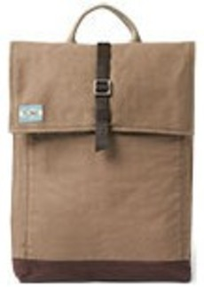TOMS Shoes Olive Utility Canvas Trekker Backpack