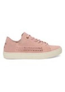 Pale Pink Suede Women's Lenox Sneakers