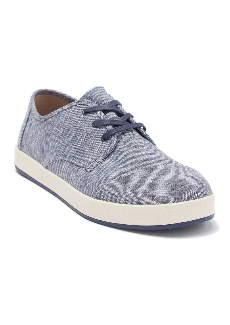TOMS Shoes Paseo Lace-Up Sneaker