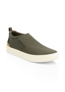 TOMS Shoes Paxton Suede Slip-On Sneakers