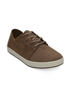 TOMS Shoes Payton Bark Suede Low-Top Sneakers